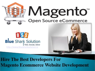 Hire best developers for Magento ecommerce web development