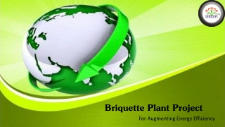 Briquetting Plant Project for Augmenting Energy Efficiency