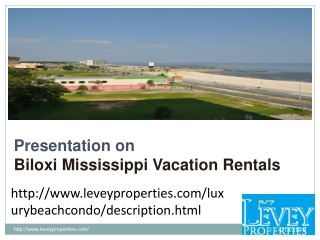 Biloxi Mississippi Vacation Rentals