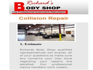 Richard Body Shop - Collision Repair Services