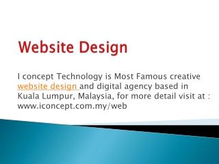 Reliable Web Design Service in Malaysia