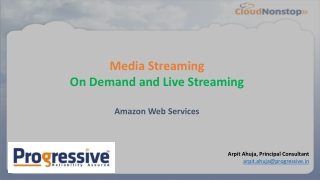 Media Streaming on AWS