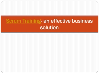 Scrum training,Agile training,Scrum,Agile