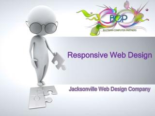 Responsive Web Design Jacksonville