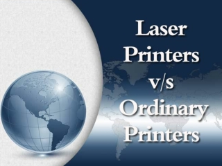 Laser Printers vs Ordinary Printers