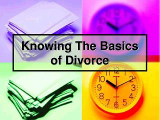 Knowing The Basics of Divorce