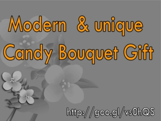 Colorful Candy Bouquet Gift Online