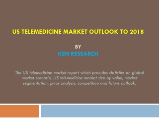 The US Telemedicine Market Report by Ken Research