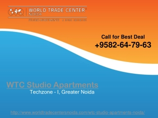 WTC Studio Apartments | WTC Studio Apartments Noida