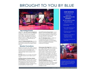 Upcoming Events at Blue Martini Las Vegas