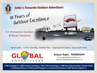 Media Planning & Buying Service in Mumbai - Global Advertise