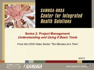 Series 2: Project Management Understanding and Using 6 Basic Tools