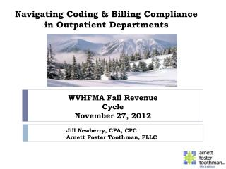 Navigating Coding & Billing Compliance in Outpatient Departments