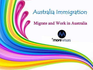 Best Reasons to Migrate and Work in Australia
