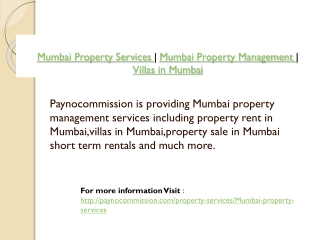 Mumbai Property Services | Mumbai Property Management | Vill