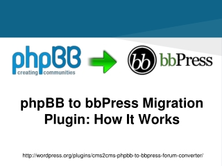 phpBB to bbPress Migration Plugin: How It Works