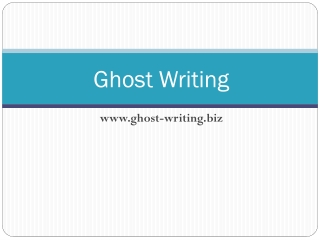 Ghost-Writing
