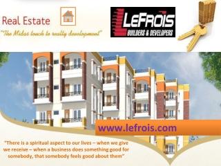 A House Developer & Builder - LeFrois