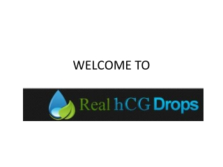 BUY REAL HCG DROPS