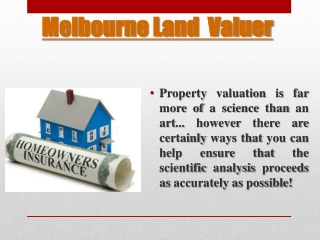 Melbourne Land Valuation