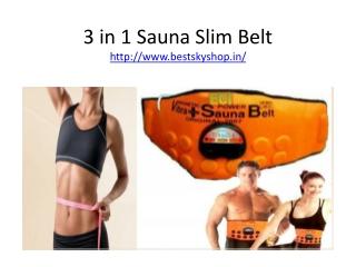 Weight Loose 3 in 1 Susana Slim Belt See Online To Buy