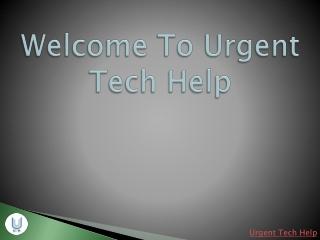Urgent Tech Help PC Support