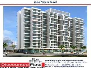 VAMA Paradise Panvel Mumbai by VUB Group
