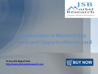 JSB Market Research: Construction in Morocco