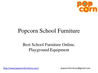 Popcorn School Furniture Online