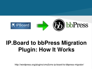 IP.Board to bbPress Migration Plugin: How It Works