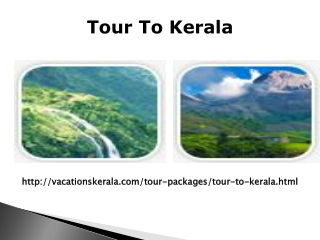 Enjoy a Tour to Kerala at Reasonable Price