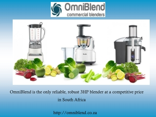 Accessorize Your Kitchen with 3hp Blender and Make Your Kitc