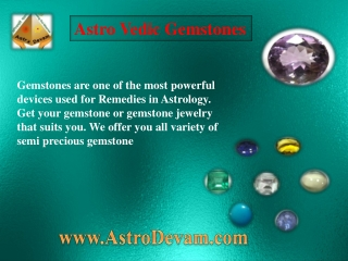 AstroVedic Gemstone
