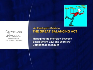 An Employer's Guide to THE GREAT BALANCING ACT