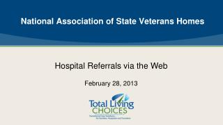 National Association of State Veterans Homes