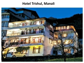 hotel, hotels, trishul, Manali, accommodation, reservation,
