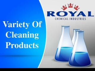 Variety Of Cleaning Products