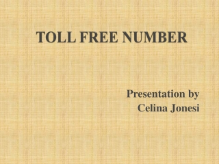 is 855 a toll free number
