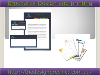 Brochures Design and printing