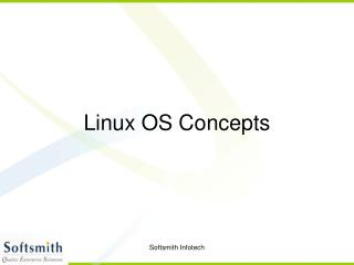 Linux OS Concepts