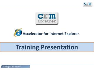 Accelerator for Internet Explorer