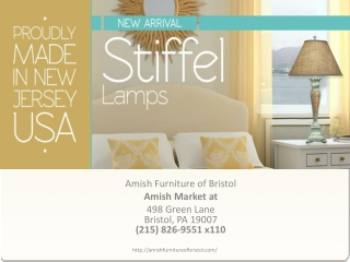 Stiffel Lamps dealer in Bristol, Pennsylvania