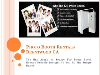 Photo Booth Rentals Pleasanton CA