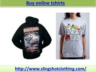 Slingshot t-shirts