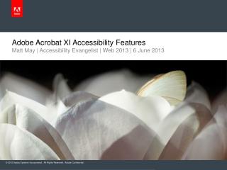 Adobe Acrobat XI Accessibility Features