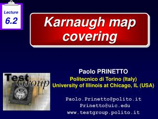 Karnaugh map covering