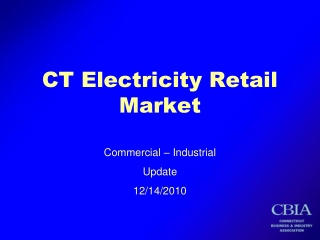 CT Electricity Retail Market