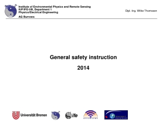 General safety instruction  2014