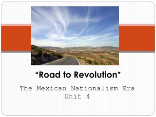""" Road to Revolution """