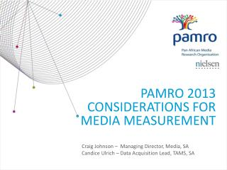 Pamro 2013 considerations for media measurement